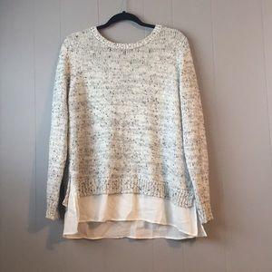 Croft and Barrow Layered Look Sweater
